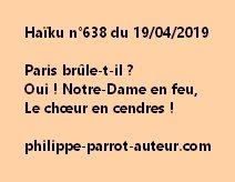 Haïku n°638  190419