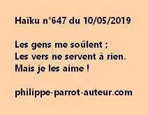 Haïku n°647  100519