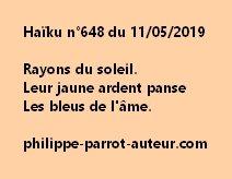 Haïku n°648  110519