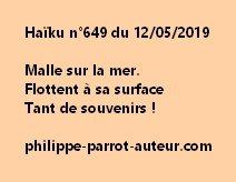 Haïku n°649  120519