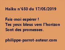 Haïku n°650  170519
