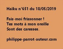 Haïku n°651  180519
