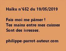 Haïku n°652  190519