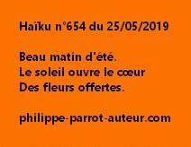 Haïku n°654  250519