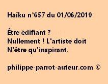 Haïku n°657  010619