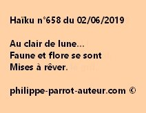Haïku n°658  020619