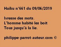 Haïku n°661  090619