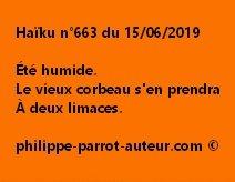 Haïku n°663  150619