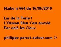 Haïku n°664  160619