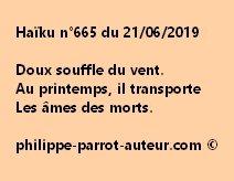Haïku n°665  210619