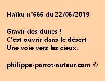 Haïku n°666  220619