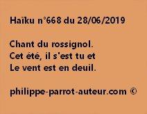 Haïku n°668  280619