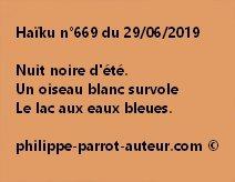 Haïku n°669  290619
