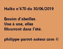 Haïku n°670  300619