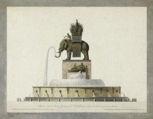 Projet de l'Eléphant à Bastille