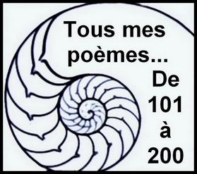 0 - Tous mes poèmes  De 101 à 200 bf
