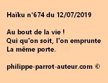Haïku n°674  120719