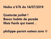 Haïku n°676  140719
