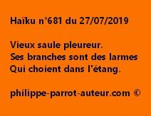 Haïku n°681  270719