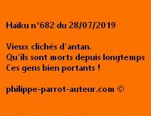Haïku n°682  280719