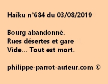 Haïku n°684  030819