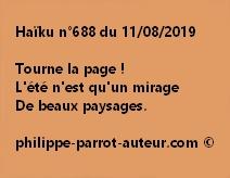 Haïku n°688  110819