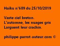 Haïku n°689  251019