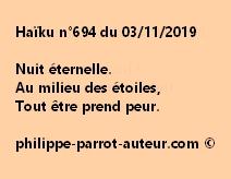 Haïku n°694  031119