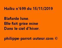Haïku n°699 151119