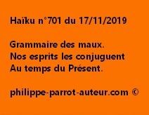 Haïku n°701 171119
