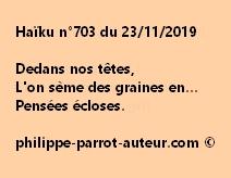 Haïku n°703 231119