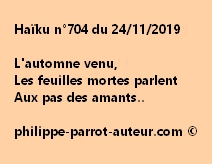 Haïku n°704 241119