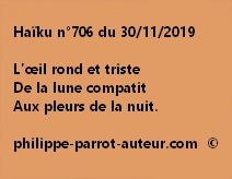 Haïku n°706 301119