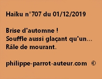 Haïku n°707 011219
