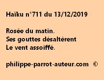 Haïku n°711 131219