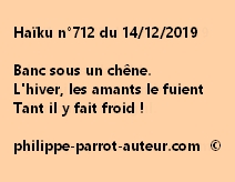 Haïku n°712 141219