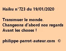 Haïku n°723 190120