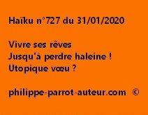 Haïku n°727 310120