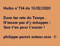 Haïku n°734 150220