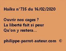 Haïku n°735 160220