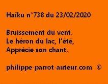 Haïku n°738 230220