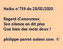 Haïku n°739 280220