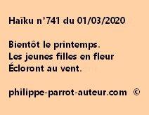 Haïku n°741 010320