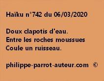 Haïku n°742 060320