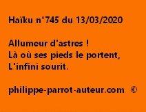 Haïku n°745 130320
