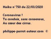 Haïku n°750 220320