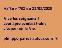 Haïku n°752 280320 ab