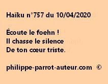 Haïku n°757 100420