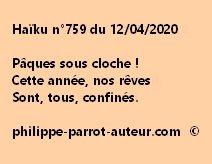 Haïku n°759 120420