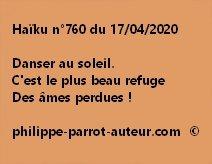 Haïku n°760 170420